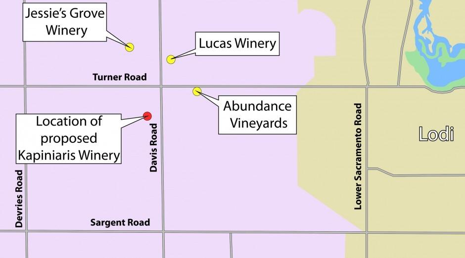 San Joaquin County planning commissioners approve contested winery