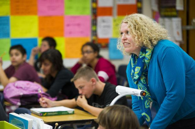 Lodi Middle School's Paige Blevins is Lodi Unified School District's teacher of the year