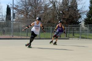 Loco City Derby Girls take over the track on Saturday