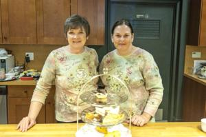 Tea time at Cheese Central teaches students how to host a casual tea at home