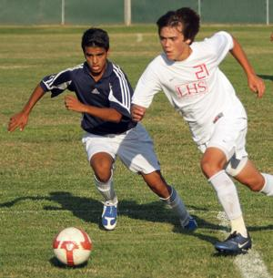 Lodi Flames top West Wolf Pack in varsity boys soccer