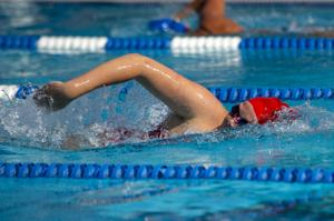 San Joaquin Athletic Association Swim Meet at Bear Creek High School