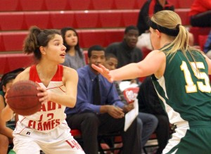 Grace Davis beats Lodi in varsity girls basketball