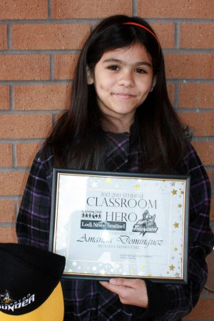 Beckman Elementary School names Classroom Heroes