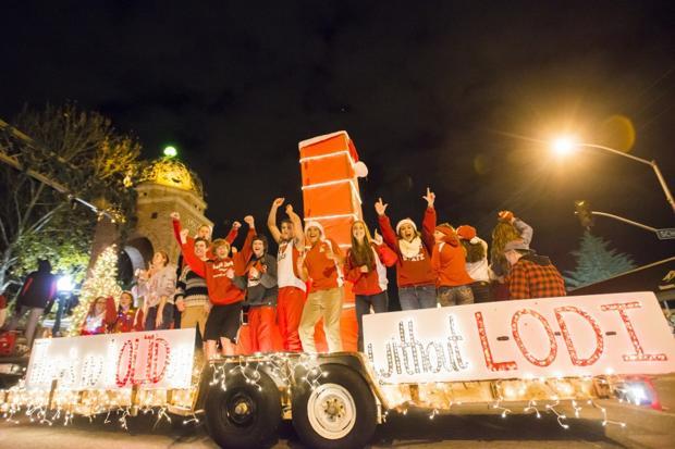 Parade lights up Lodi