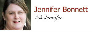 Jennifer Bonnett — Ask Jennifer
