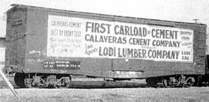Calaveras Cement supplied material for Pardee Dam, Bay Bridge