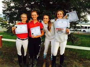 Liberty Oaks Pony Club members pass certification