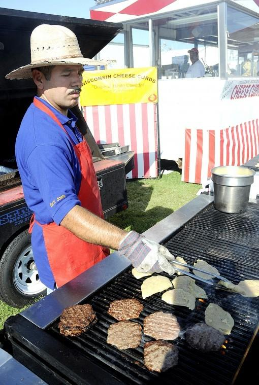 Bacon and chocolate? Why not? Try it all at the Grape Festival