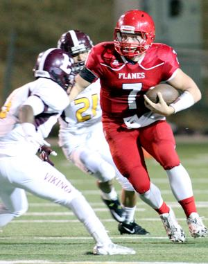 Football: Flames return to Lodi Grape Bowl and win thriller