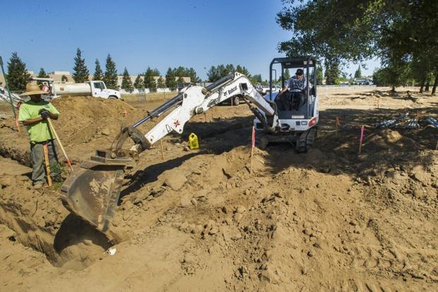 Lodi's Roget Park will feature walking paths, demonstration garden
