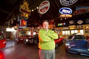 Cherokee Lane business features classic cars, vintage collectibles