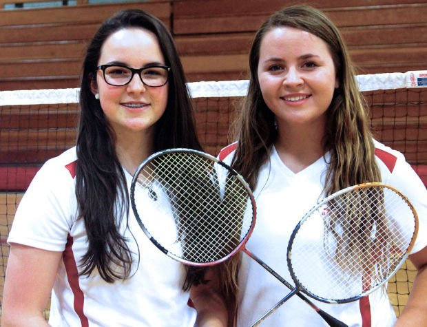 Girls badminton: According to a little birdie, Flames duo is fantastic