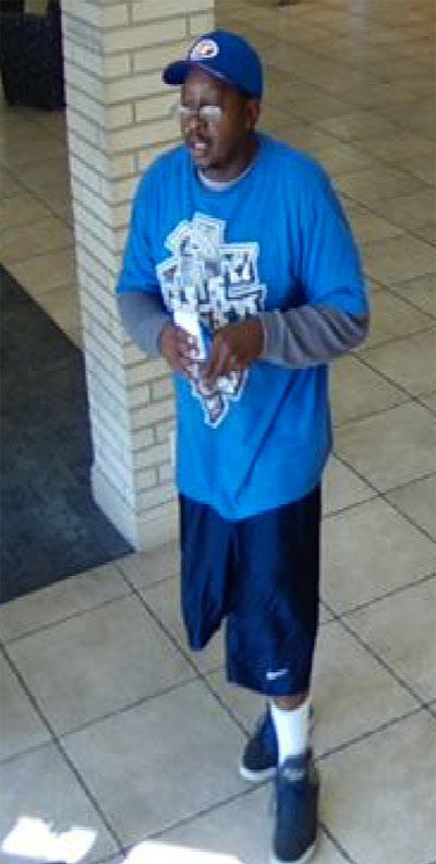 Lodi police search for bank robbery suspect