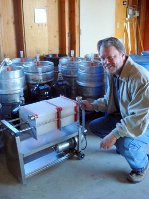 Perfectly-sized winemaking equipment