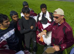 Skydiving team from Qatar trains at Lodi Parachute Center