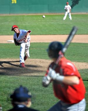 Flames carry title aspirations in baseball