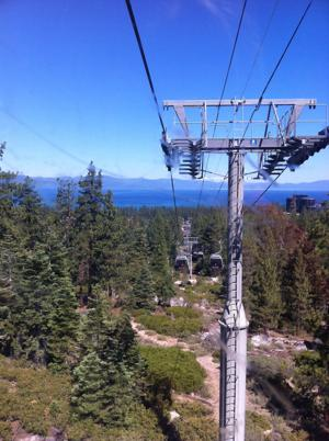 Take the Heavenly Valley gondola ride for scenic views and family recreation