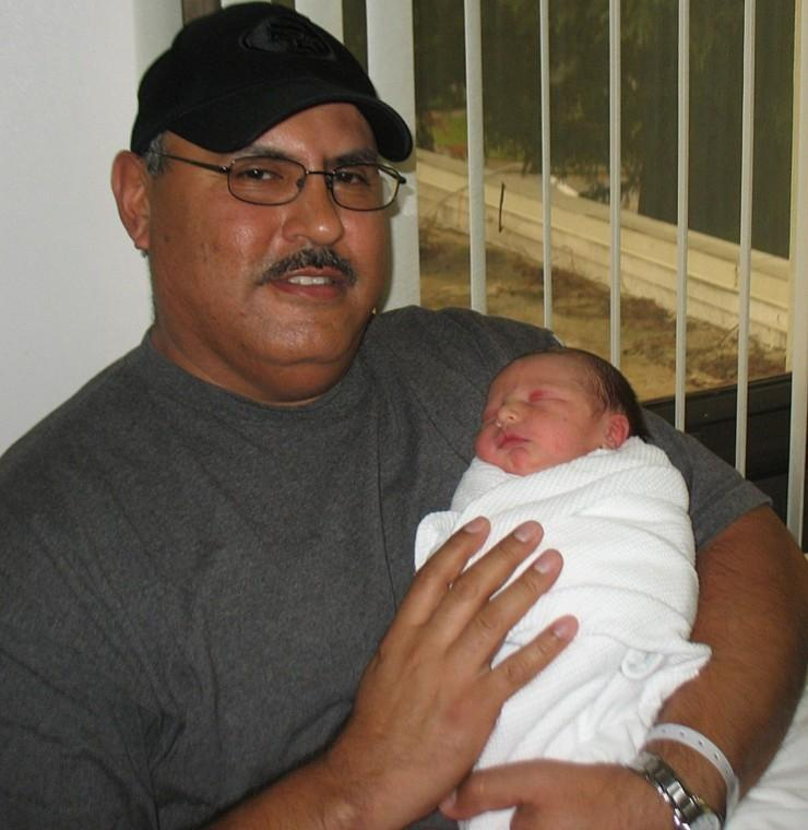 Marc Nicolas Mata: Lodi's first baby of 2011 born on New Year's Day at LMH