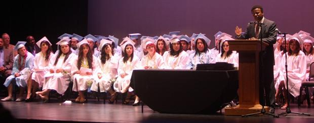 Second chances and surmounting obstacles: Nearly 70 students graduate from Liberty High School