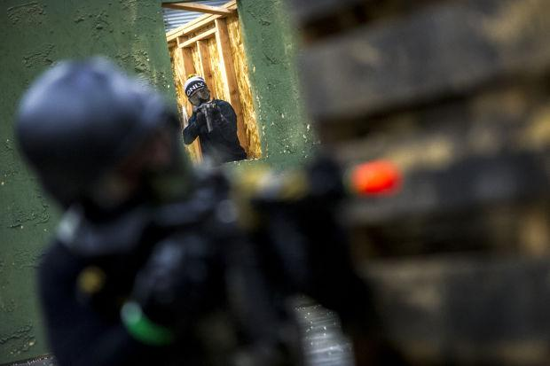 CQB City in Stockton a haven for Airsoft enthusiasts, mock battles