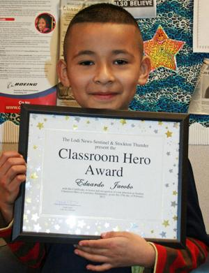 Lawrence Elementary School names Classroom Heroes