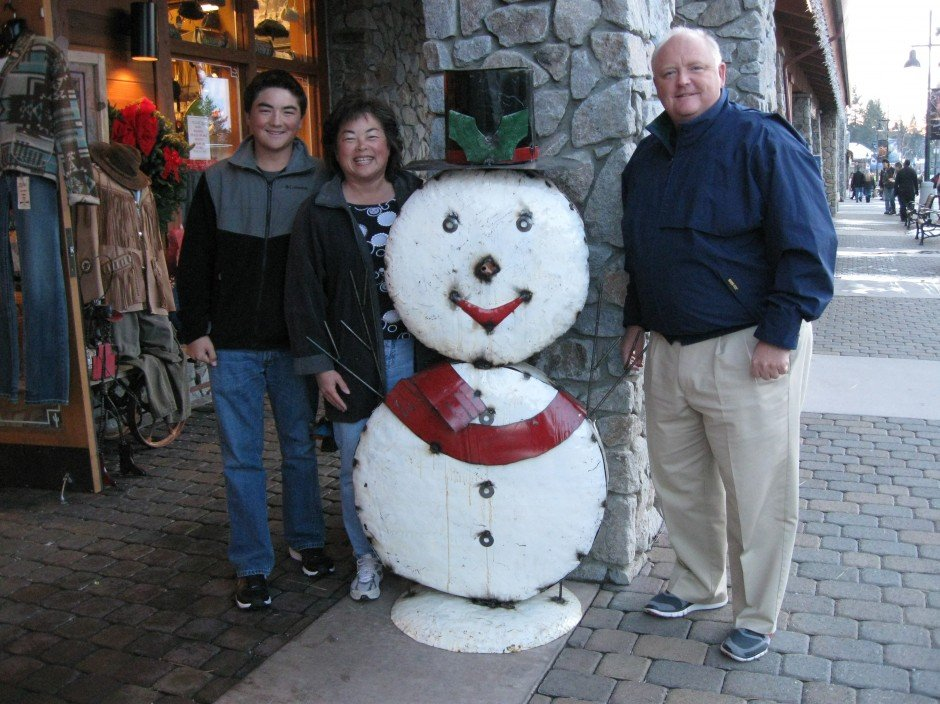 Holiday in Lake Tahoe