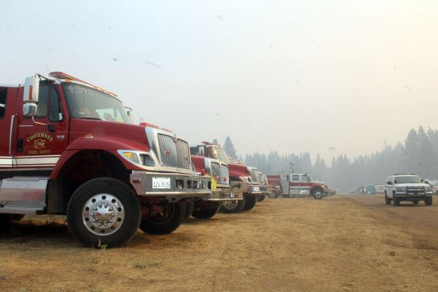 Local firefighters battle out-of-control blaze in Sierra foothills