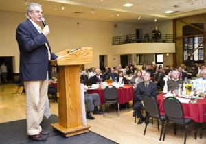 Mayor Phil Katzakian applauds infrastructure projects at State of the City