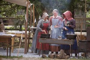 Gold Rush history comes to life at Diggins Tent Town 1852