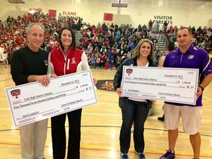 Companies raise money for Lodi, Tokay athletic departments