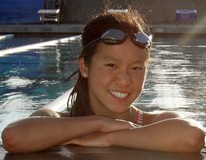 Cayla Nishizaki wins three events at Folsom swim meet