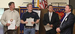 Lodi Tokay Rotary inducts three new members