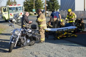 Motorcycle riders injured on Victor Road