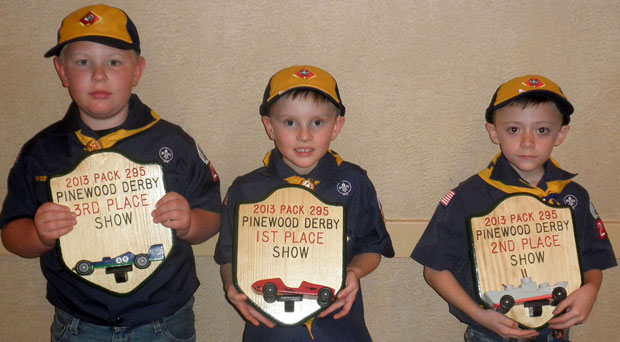 Boy Scouts compete in Lodi Elks Lodge's Pinewood Derby
