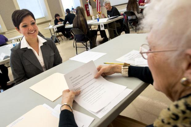 Lodi Unified School District students get job-hunting tips at mock interviews
