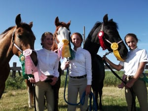 Liberty Oaks Pony Club members compete in spring horseshow