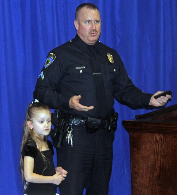 Lodi Police Cpl. Roger Butterfield retires
