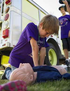 Scouts learn new skills, earn badges at camp in Lodi