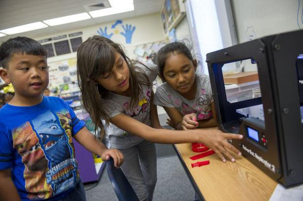 3D printer turns Lodi Unified School District fourth-graders into engineers