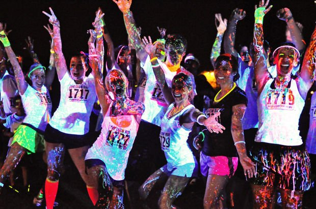 One your mark, get set and glow at the Neon Splash Dash