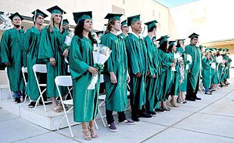 Galt's Estrellita High School graduates 107 eager students