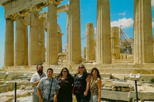 Lodi family takes dream vacation, traveling through Greece, Spain