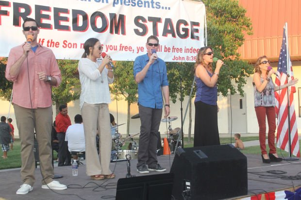 The Home Church celebrates Freedom Fest '13