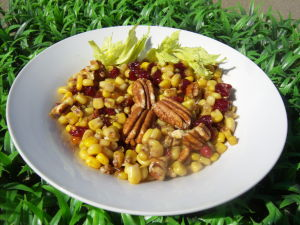 Remembering the first Thanksgiving with pilgrim salad