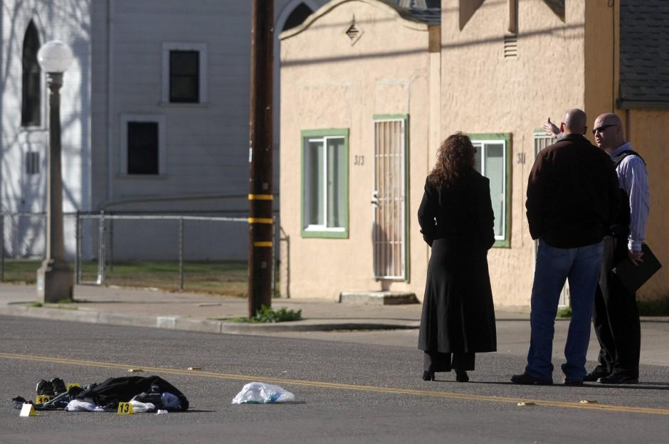 Man shot and killed on Central Avenue