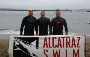 Local adventurers take on Alcatraz, sharks