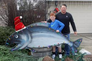 Stolen Christmas salmon returned to owners