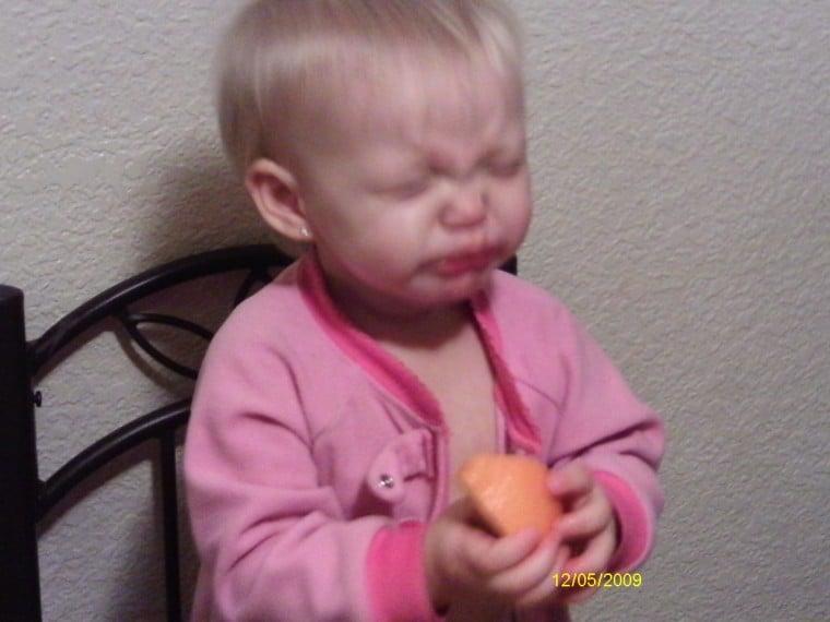 baby's first orange