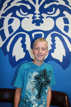 Washington Elementary School student Kyle McCune looks forward to Alaska trip